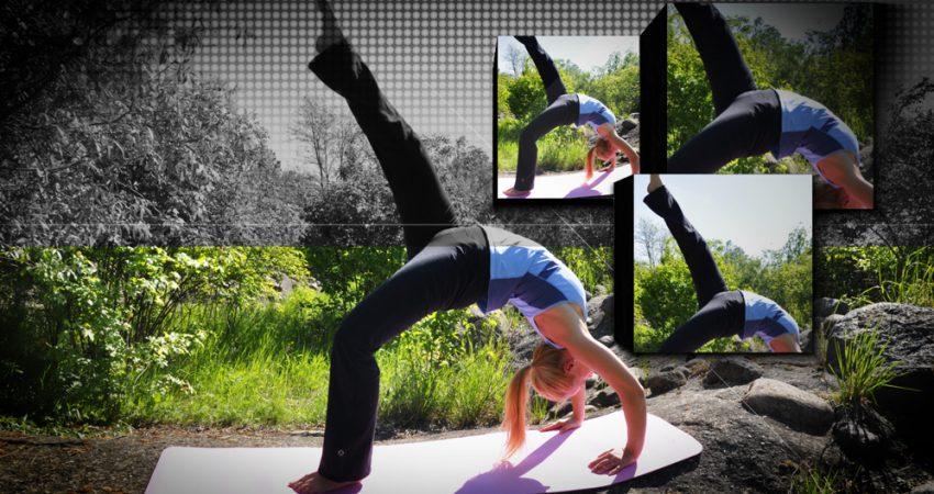 'Yoga unter freiem Himmel' oder 'das 7. Berliner Yogafestival ruft'