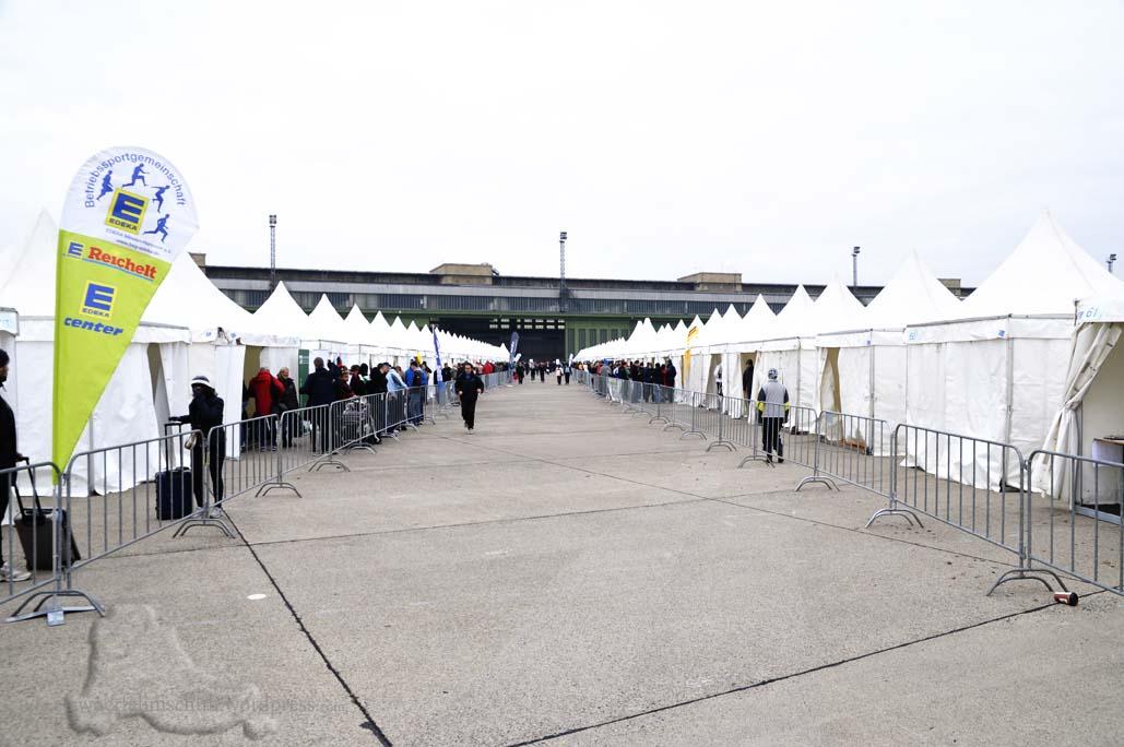 Marathonstaffel Berlin Flughafen Tempelhof SCC