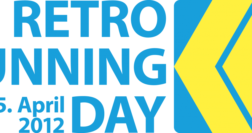 Auch beim Laufen wird es jetzt Retro mit dem: RETRO RUNNING DAY