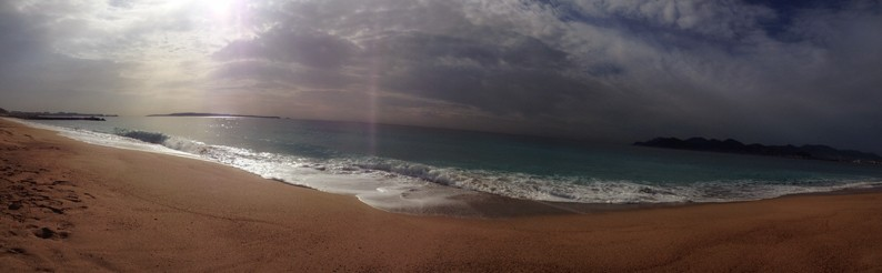 Cannes-Hafen-Meer-Strand-Sonnenaufgang