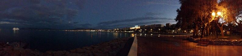 Cannes-Morgen-Sonnenaufgang-Nacht