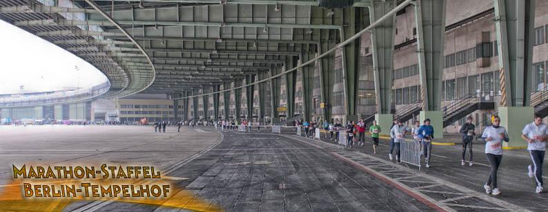 Marathon Staffel Berlin Tempelhof