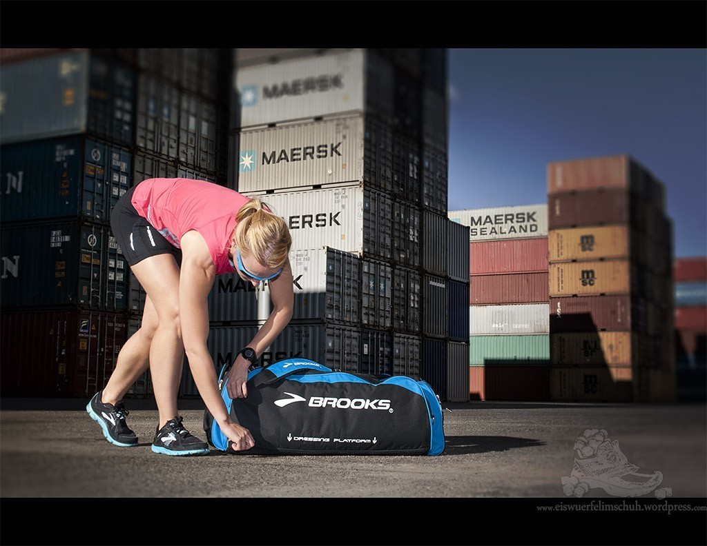Brooks Racer Running Laufen Nightlife Pure Bag