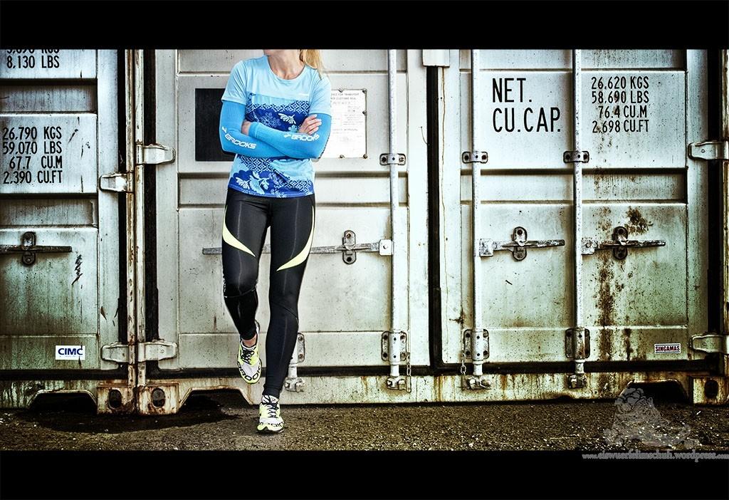 Brooks Racer Running Laufen Racer Tight Vest Visor Elite Shirt