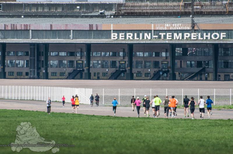 Berlin Tempelhof Malarathon Eiswuerfelimschuh Lauf Running 10