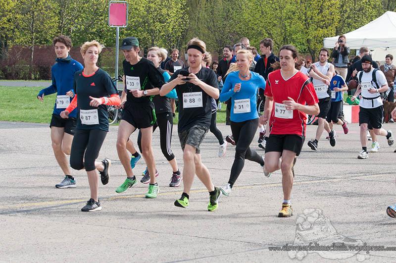 Berlin Tempelhof Malarathon Eiswuerfelimschuh Lauf Running 9