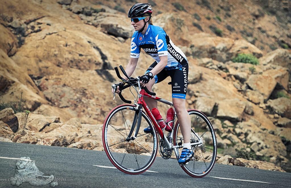 Fuerteventura Eiswuerfelimschuh Garmin Velothon Rennrad Berg