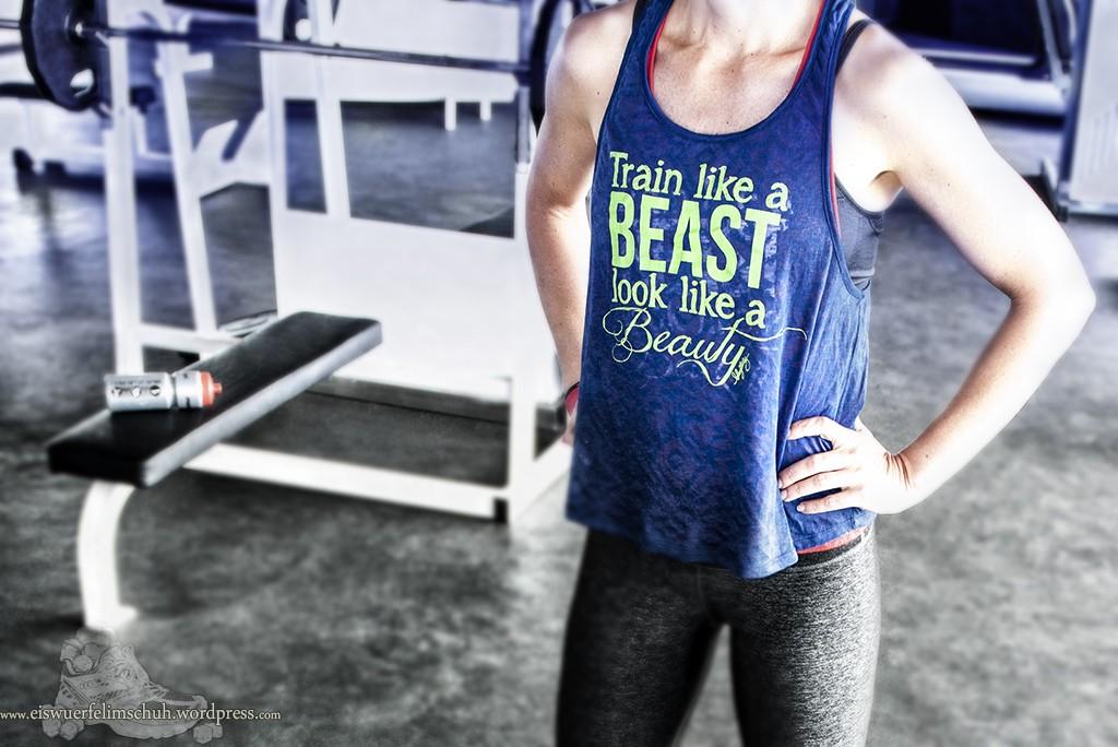 Kleine Motivation - Train like a Beast