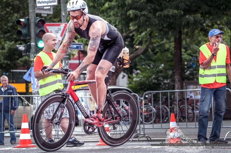 Ironman Berlin 2013 Triathlon Eiswuerfelimschuh (54)