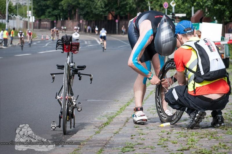 Ironman Berlin 2013 Triathlon Eiswuerfelimschuh (60)