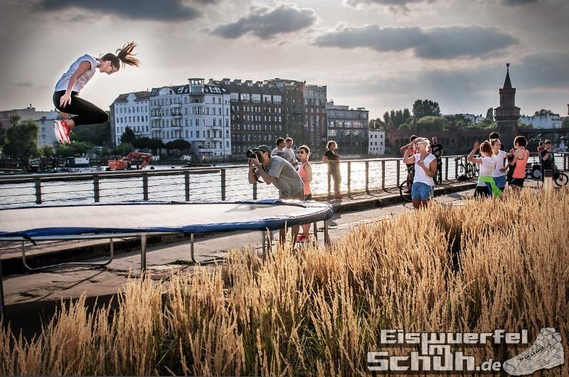Eiswuerfelimschuh NIKE Free Flyknit Schuh Shoe Promotion Event Berlin (10-1)