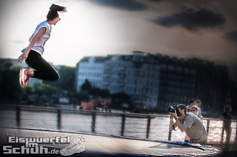 Eiswuerfelimschuh NIKE Free Flyknit Schuh Shoe Promotion Event Berlin (10-2)
