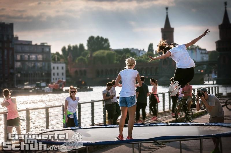 Eiswuerfelimschuh NIKE Free Flyknit Schuh Shoe Promotion Event Berlin (19-1)