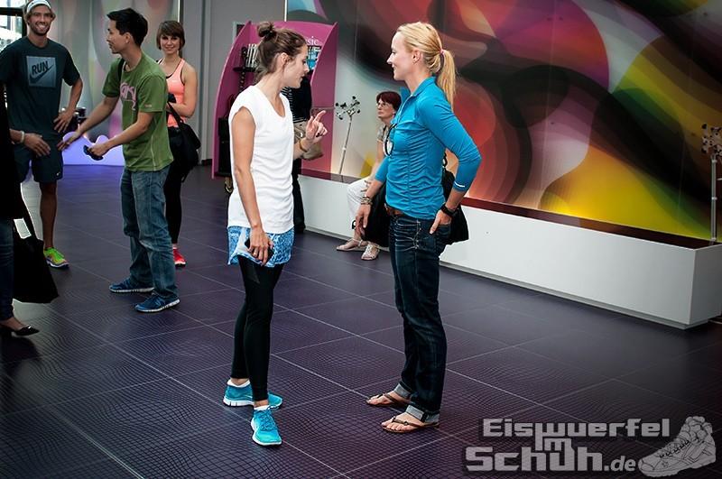 Eiswuerfelimschuh NIKE Free Flyknit Schuh Shoe Promotion Event Berlin (3)