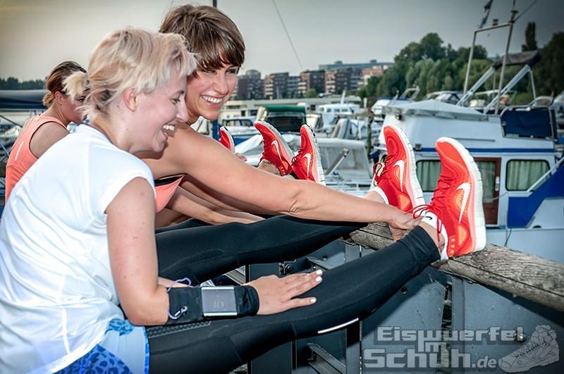 Eiswuerfelimschuh NIKE Free Flyknit Schuh Shoe Promotion Event Berlin (37)