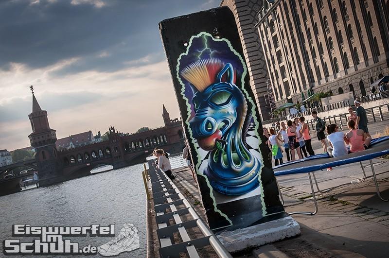 Eiswuerfelimschuh NIKE Free Flyknit Schuh Shoe Promotion Event Berlin (8-1)