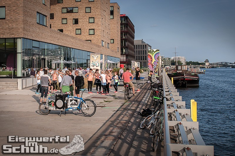 Eiswuerfelimschuh NIKE Free Flyknit Schuh Shoe Promotion Event Berlin (8-2)