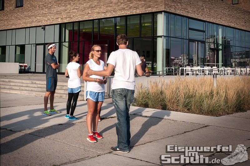 Eiswuerfelimschuh NIKE Free Flyknit Schuh Shoe Promotion Event Berlin (8-7)
