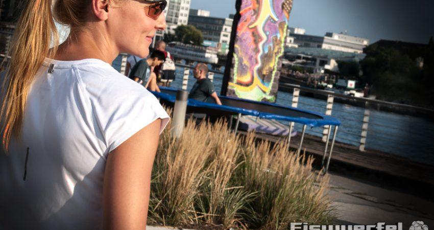 Auf Lauf- & Bootstour mit dem Free Flyknit von Nike