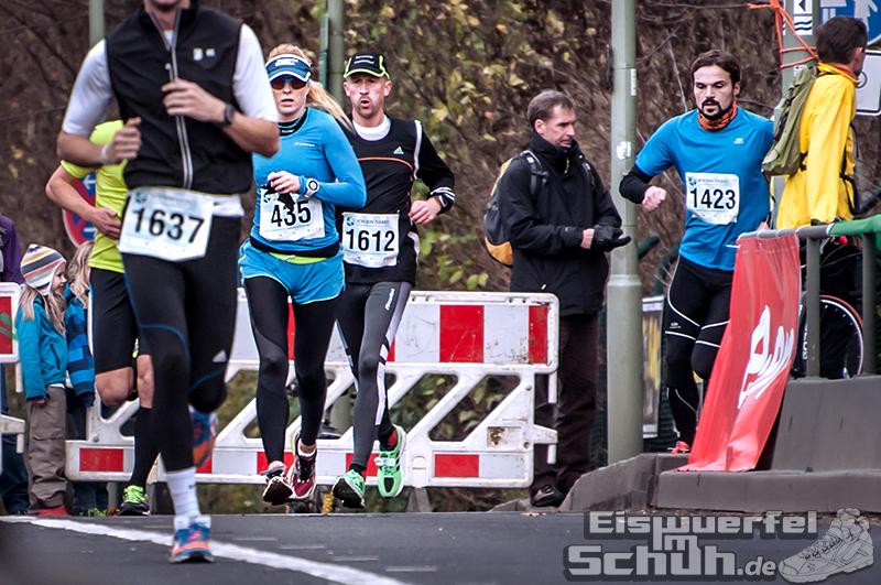 Eiswuerfelimschuh Teltowkanal Halbmarathon Lauf Wettkampf (11)