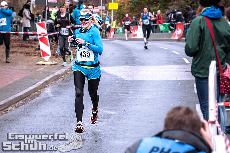 Eiswuerfelimschuh Teltowkanal Halbmarathon Lauf Wettkampf (13)