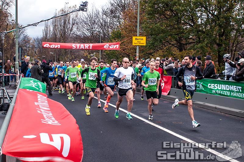 Eiswuerfelimschuh Teltowkanal Halbmarathon Lauf Wettkampf (6)