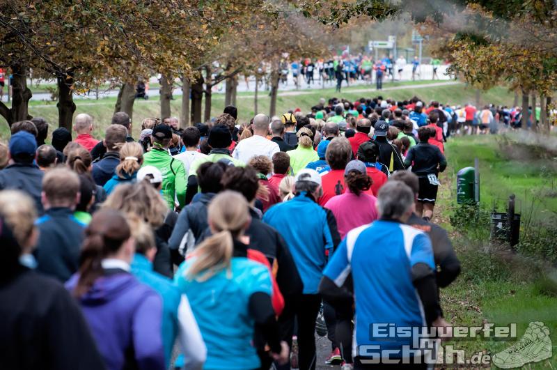 Eiswuerfelimschuh Teltowkanal Halbmarathon Lauf Wettkampf (8)