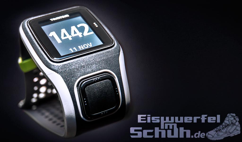 Eiswuerfelimschuh TomTom Multi-Sport GPS-Uhr Laufen Schwimmen Radfahren Puls Herzfrequenz Gurt Heartrate Watch (11)