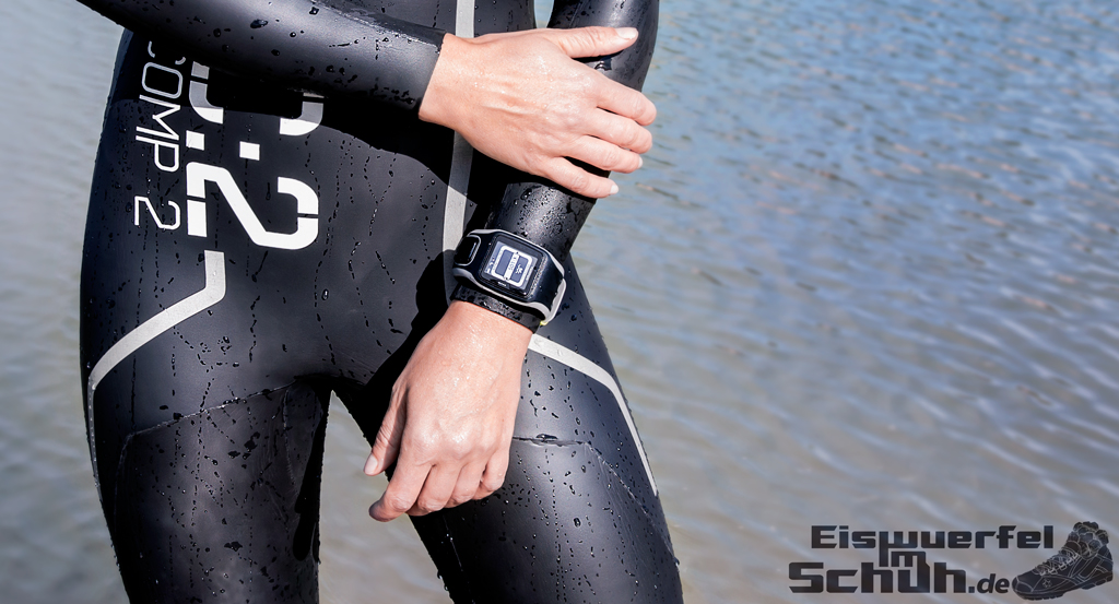 Eiswuerfelimschuh TomTom Multi-Sport GPS-Uhr Laufen Schwimmen Radfahren Puls Herzfrequenz Gurt Heartrate Watch (3)