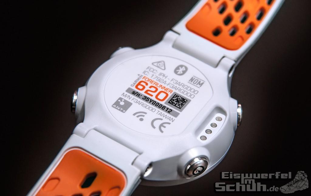 Eiswuerfelimschuh Garmin Forerunner 620 GPS-Uhr Fitness-Uhr Laufdynamik Fitness Kennzahlen (03)