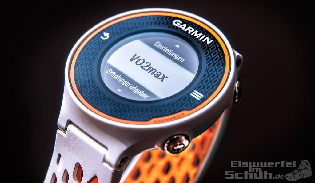 Eiswuerfelimschuh Garmin Forerunner 620 GPS-Uhr Fitness-Uhr Laufdynamik Fitness Kennzahlen (04)