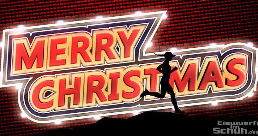 Ich wünsche euch fröhliche Weihnachten mit viel Liebe und Gemütlichkeit