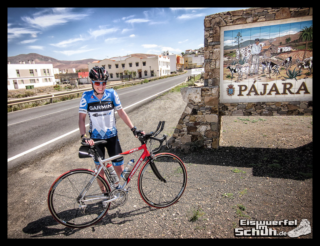 Eiswuerfelimschuh Fuerteventura mit dem Rad II Garmin Rennrad (14)