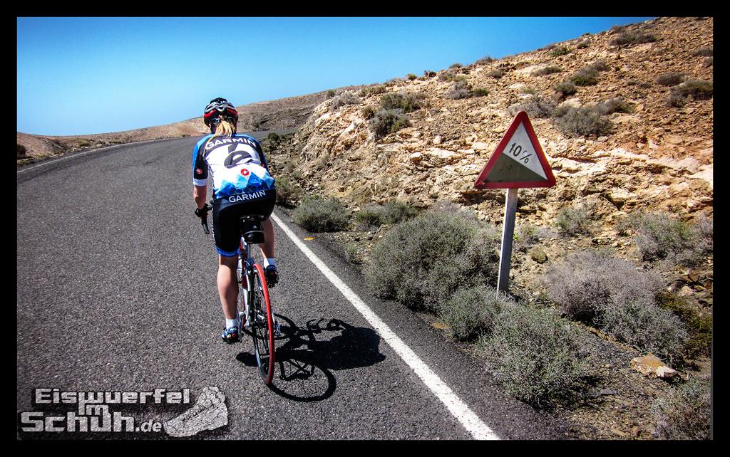 Eiswuerfelimschuh Fuerteventura mit dem Rad II Garmin Rennrad (17)