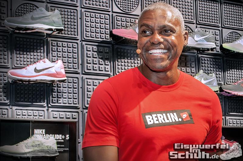 Eiswuerfelimschuh NIKE Store Berlin Opening Carl Lewis (21)