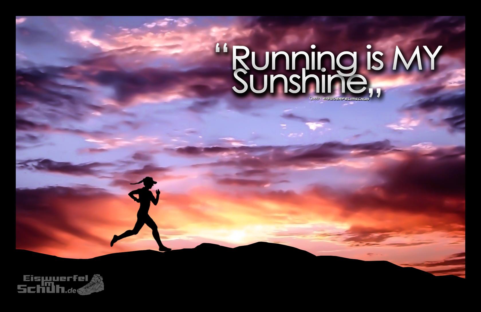 Laufen ist mein Sonnenschein - Mehr Motivation für den Frühling