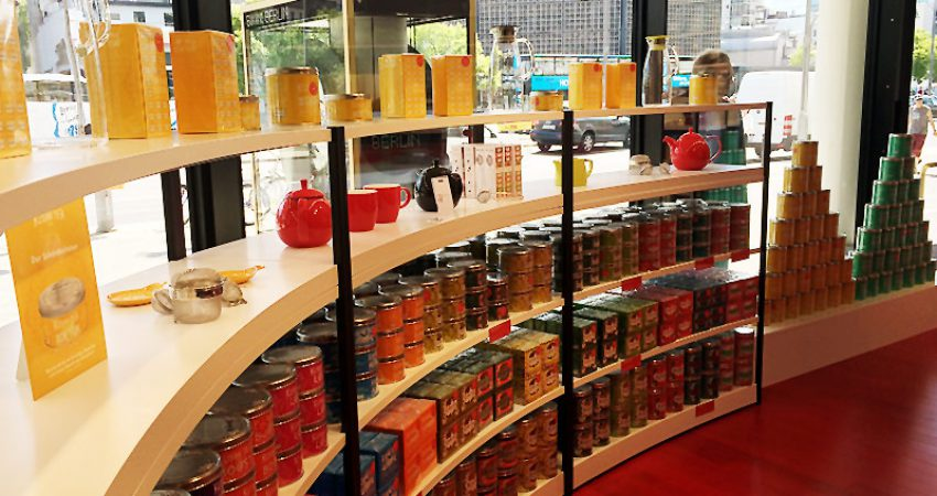 Tea Time in Berlin: Kusmi Tea in der neuen Concept Mall 'Bikini Berlin'