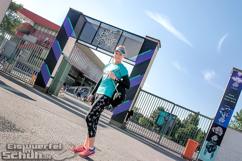 EISWUERFELIMSCHUH – NIKE We Own The Night Women Run Lauf Event Berlin 2014 (1)