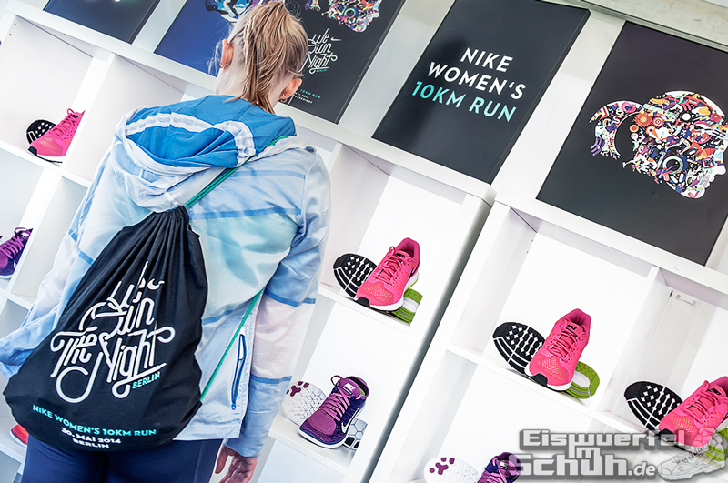 EISWUERFELIMSCHUH – NIKE We Own The Night Women Run Lauf Event Berlin 2014 (37)