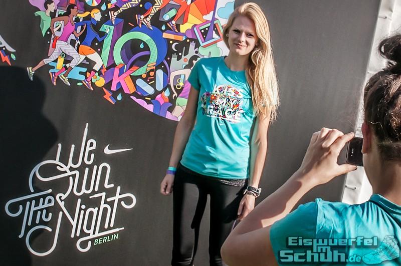 EISWUERFELIMSCHUH – NIKE We Own The Night Women Run Lauf Event Berlin 2014 (49)