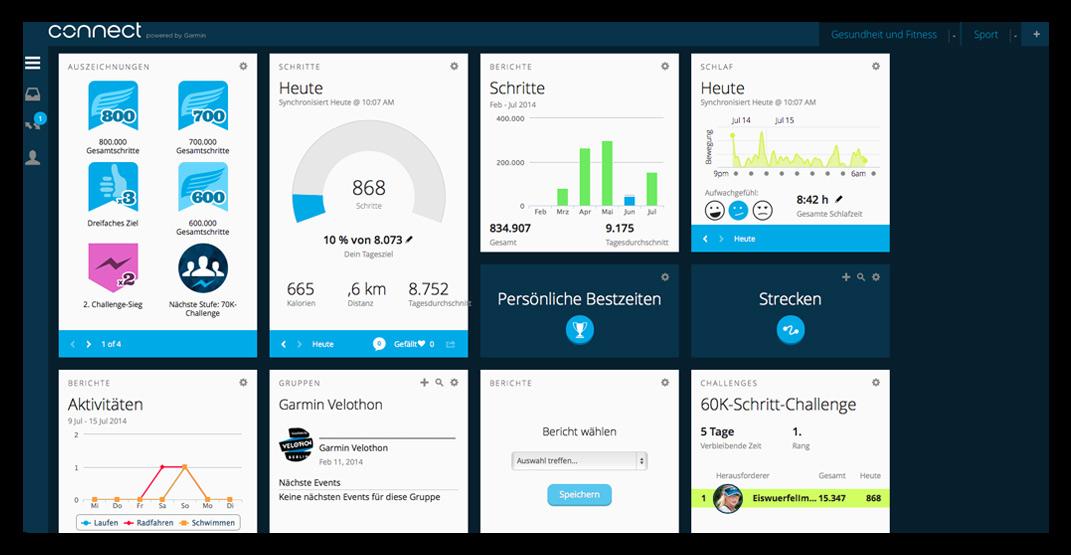 EISWUERFELIMSCHUH---GARMIN-Vivofit-Fitness-Tracker-Connect-Widget