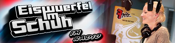 EISWUERFELIMSCHUH - Berlin Radio Fritz RBB Interview Banner Header