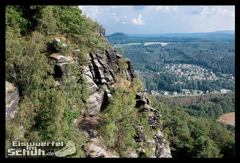 EISWUERFELIMSCHUH – Trail Lauf Saechsische Schweiz Lilienstein Mizuno (14)