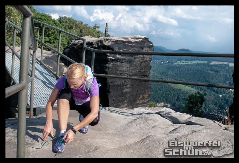 EISWUERFELIMSCHUH – Trail Lauf Saechsische Schweiz Lilienstein Mizuno (20)