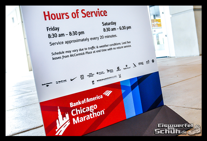 EISWUERFELIMSCHUH – CHICAGO MARATHON 2014 PART I – Marathon Messe McCormick Place (20)