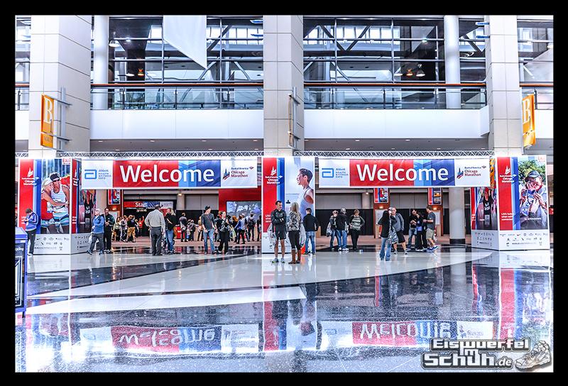 EISWUERFELIMSCHUH – CHICAGO MARATHON 2014 PART I – Marathon Messe McCormick Place (36)