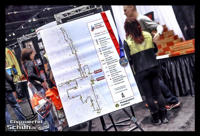 EISWUERFELIMSCHUH – CHICAGO MARATHON 2014 PART I – Marathon Messe McCormick Place (69)