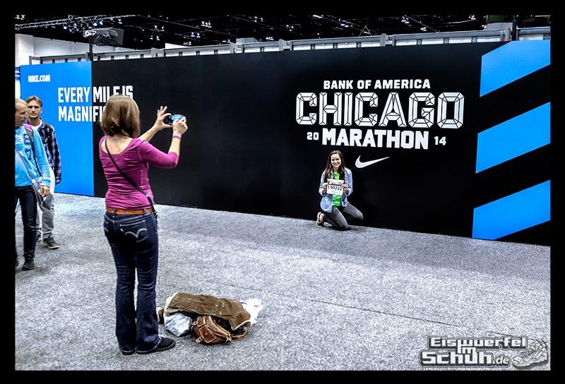 EISWUERFELIMSCHUH – CHICAGO MARATHON 2014 PART I – Marathon Messe McCormick Place (81)