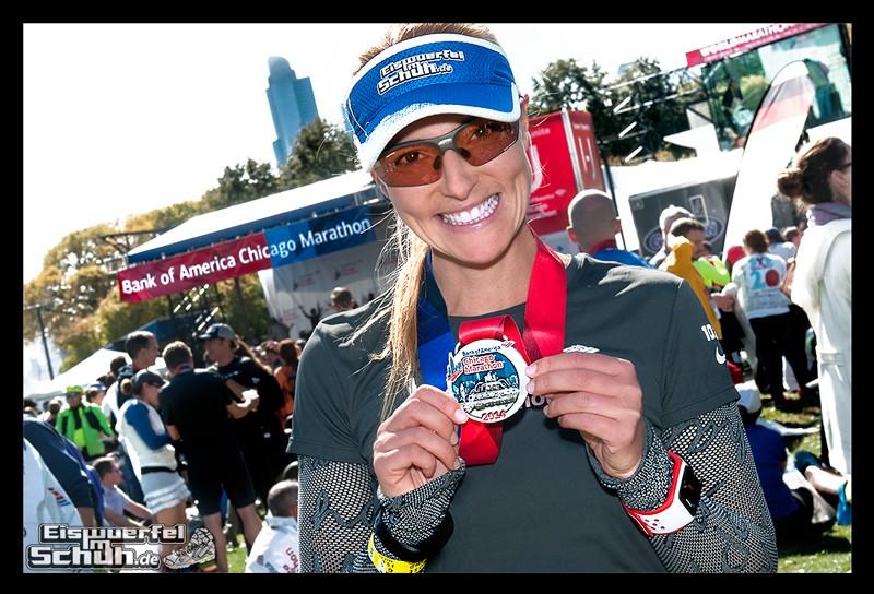 EISWUERFELIMSCHUH - IN CHICAGO - Marathon 2014 Medal Medaille Finish