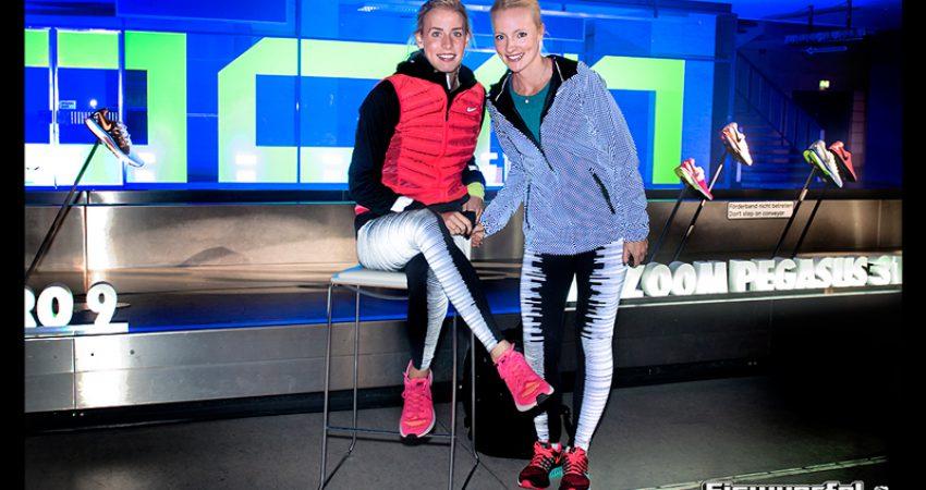 Staffellauf mit Profi Leichtathleten & Lichterglanz auf dem Tempelhofer Feld